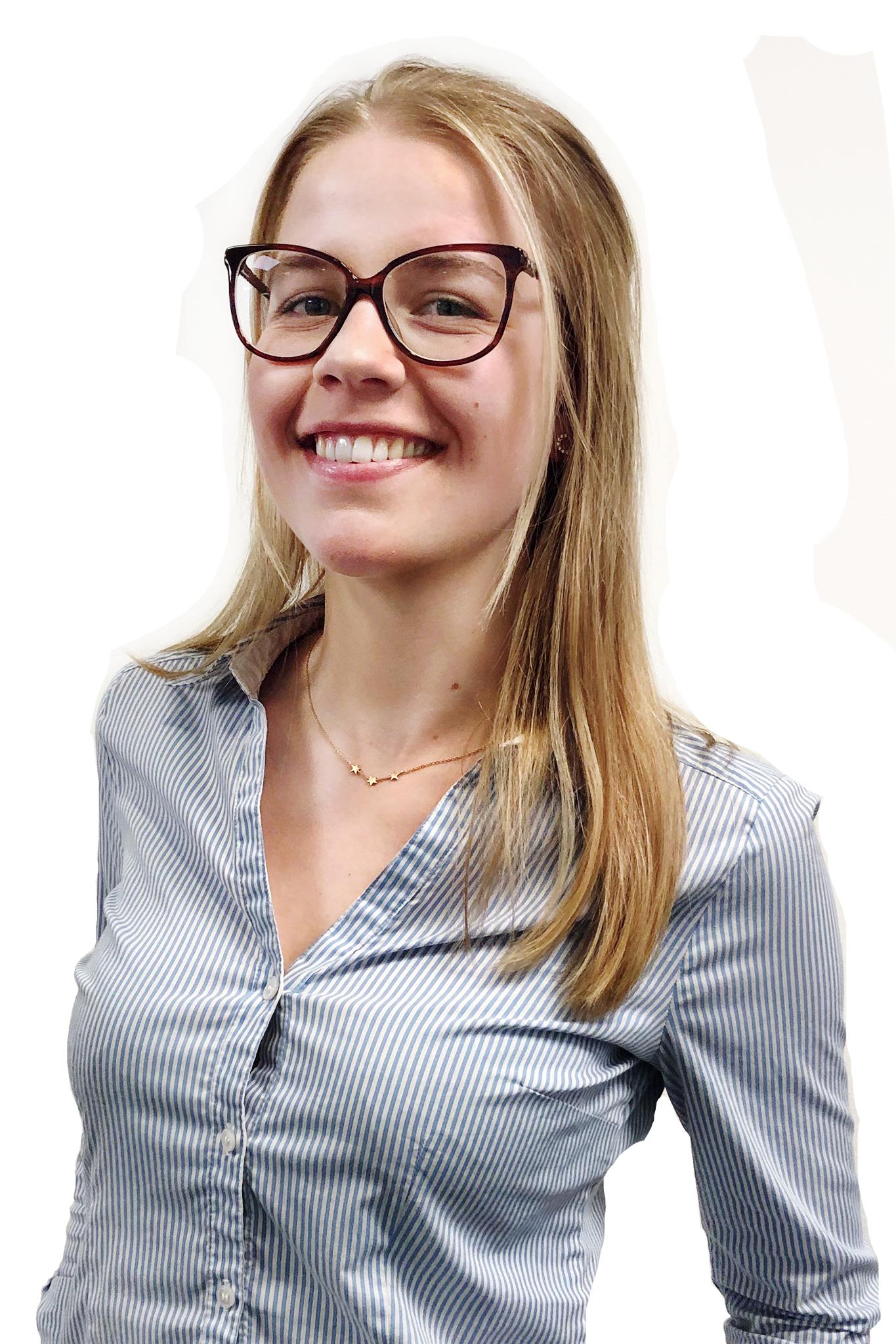 Josefine Ulrikz försäljningspraktikant LIA från Sälj & Marknadshögskolan