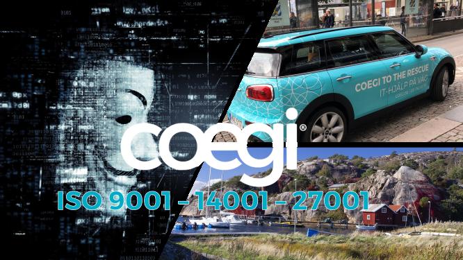 Coegi ISO 9001, 14001, 27001