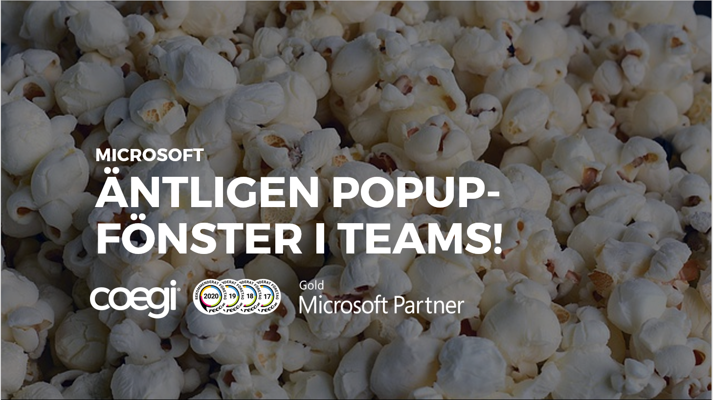 popup-fönster i Teams