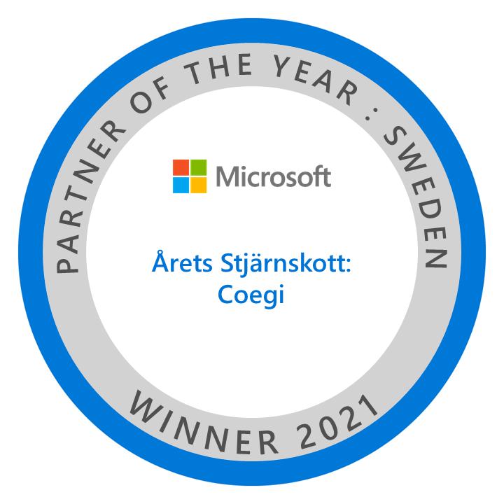 Coegi Microsoft Partner Awards